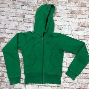 Lululemon scuba green XS 0 hoodie
